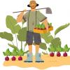 Job im Ausland - Mitarbeiter in der Landwirtschaft